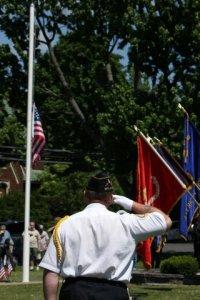 flag salute